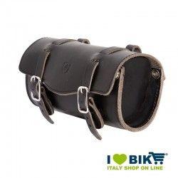 Brave Classics saddlebag in real black leather online shop