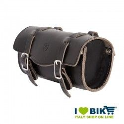 Brave Classics saddlebag in real black leather online shop
