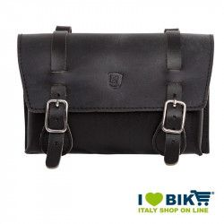 Brave Classics handlebar in real black leather online shop