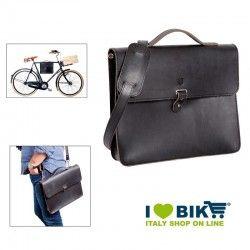 Brave Classics shoulder bag in real black leather online shop