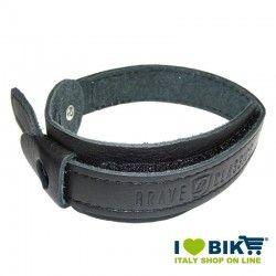 Couple Trouser Strap Brave Classics Black Leather bike store