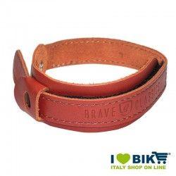 Couple Trouser Strap Brave Classics honey Leather bike store