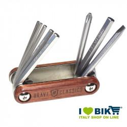 Chiavi Multi Tool Brave Classics in legno con 8 funzioni online shop