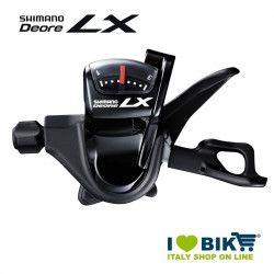 Comando cambio Shimano Deore LX SL-T 670 nero 3v SX bike shop