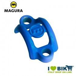 Collarino di serraggio Magura alluminio blu senza viti