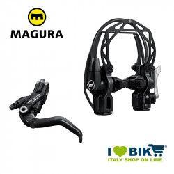 Freno V-Brake idraulico Magura HS33R leva a 2 dita nero