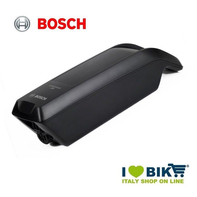 Batteria al telaio Bosch 400 Wh nera bike shop