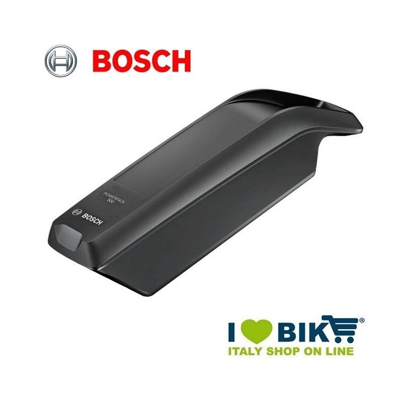 Batteria al telaio Bosch 500 Wh nera bike shop