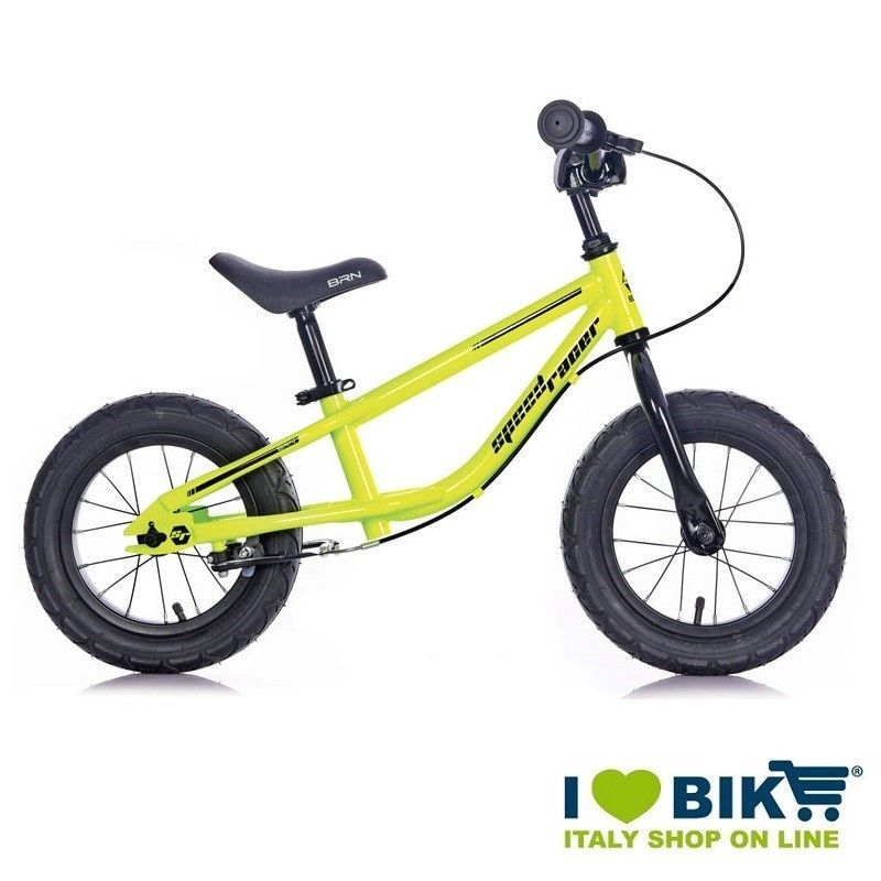 Bike without pedals Speed Racer yellow Fluo bike store