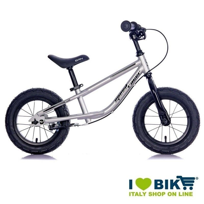 Bike without pedals Speed Racer Silver BRN - 1