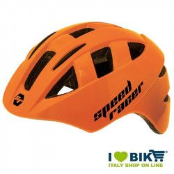 Casco Speed Racer Arancio fluo bike store
