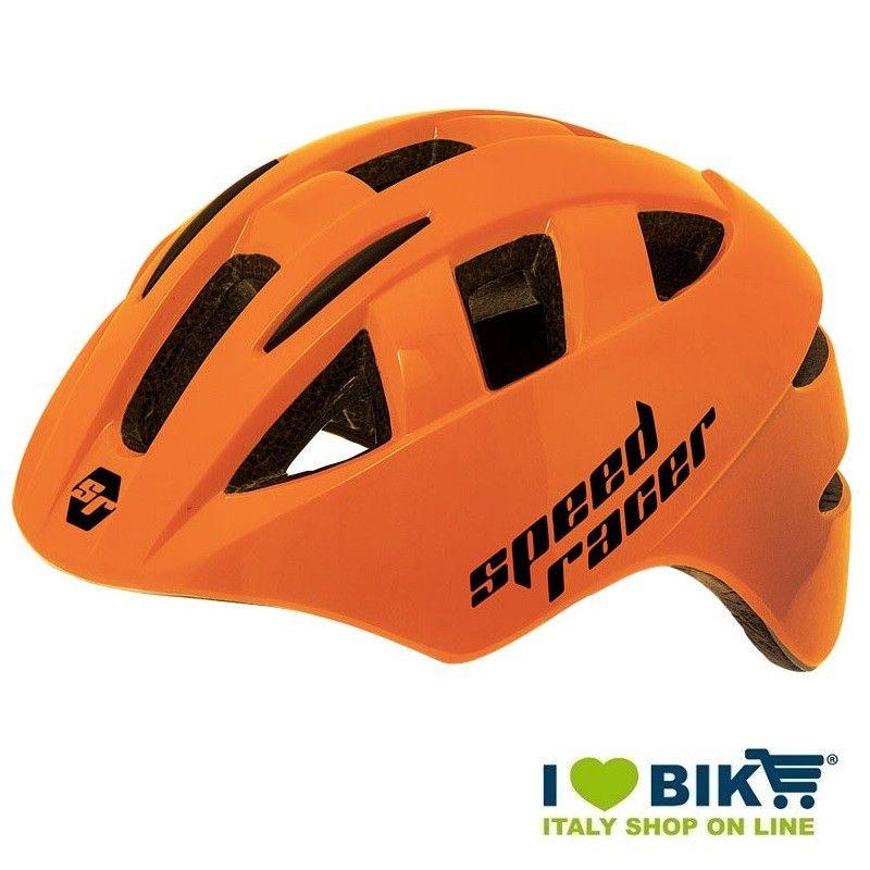Casco Speed Racer Arancio fluo bike store