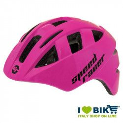 Casco Speed Racer fuxia fluo bike store