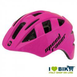Casco Speed Racer fuxia fluo bike store