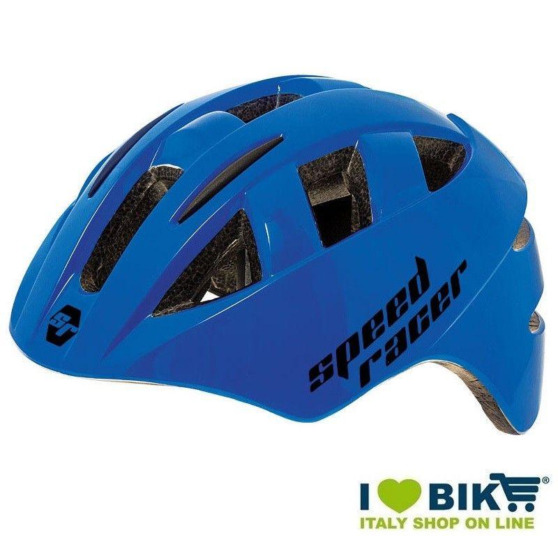Casco Speed Racer Blu bike store