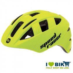 Casco Speed Racer Giallo fluo bike store