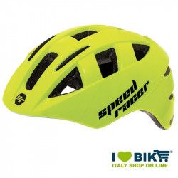 Helmet Speed Racer yellow Fluo