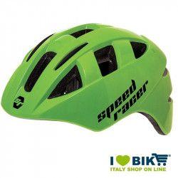 Casco Speed Racer Verde fluo bike store