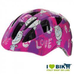 Child Helmet BRN girl love fuxia