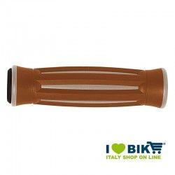 Coppia manopole bicicletta BRN America crema e marrone online shop