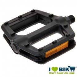 Pair Pedals Fixed/Bmx Black Pivot Thin Pin 1/2