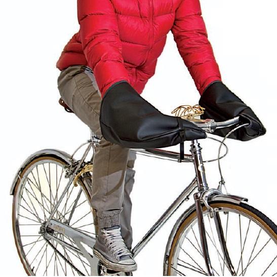 scalda manio bicicletta accessorio