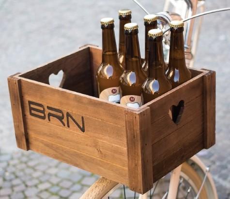 casetta in legno bici cestino BRN on line shop vendita accessori bici cestini