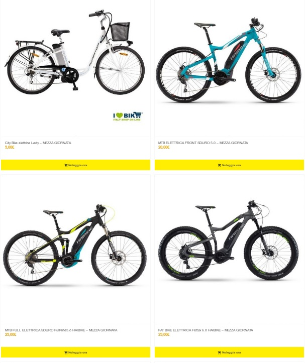 noleggio bici riccione